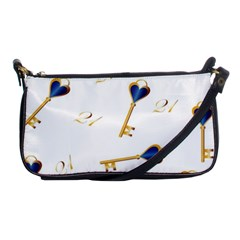 21st Birthday Keys Background Evening Bag