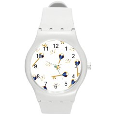 21st Birthday Keys Background Plastic Sport Watch (Medium)