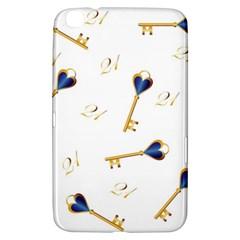 21st Birthday Keys Background Samsung Galaxy Tab 3 (8 ) T3100 Hardshell Case