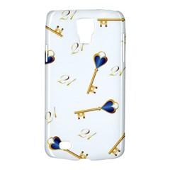 21st Birthday Keys Background Samsung Galaxy S4 Active (I9295) Hardshell Case