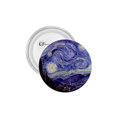 Vincent Van Gogh Starry Night 1.75  Button