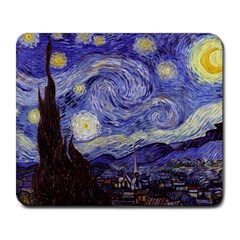 Vincent Van Gogh Starry Night Large Mouse Pad (Rectangle)