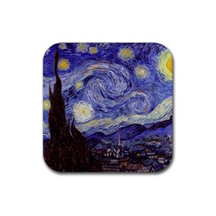 Vincent Van Gogh Starry Night Drink Coasters 4 Pack (Square)
