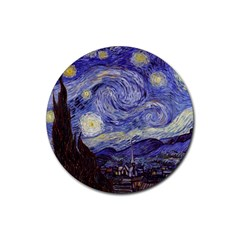 Vincent Van Gogh Starry Night Drink Coasters 4 Pack (Round)