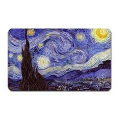 Vincent Van Gogh Starry Night Magnet (rectangular)