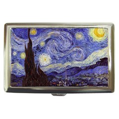 Vincent Van Gogh Starry Night Cigarette Money Case