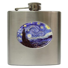 Vincent Van Gogh Starry Night Hip Flask