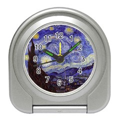 Vincent Van Gogh Starry Night Desk Alarm Clock