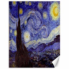 Vincent Van Gogh Starry Night Canvas 12  x 16  (Unframed)