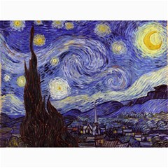 Vincent Van Gogh Starry Night Canvas 18  x 24  (Unframed)