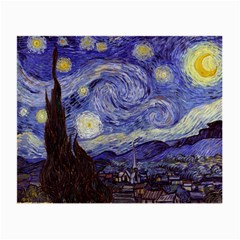 Vincent Van Gogh Starry Night Glasses Cloth (Small, Two Sided)