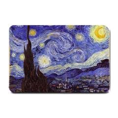 Vincent Van Gogh Starry Night Small Door Mat