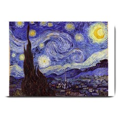 Vincent Van Gogh Starry Night Large Door Mat