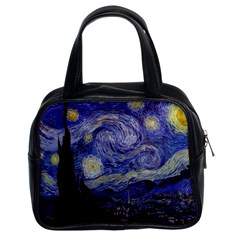Vincent Van Gogh Starry Night Classic Handbag (Two Sides)