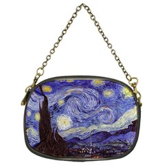 Vincent Van Gogh Starry Night Chain Purse (one Side)