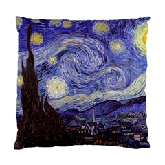 Vincent Van Gogh Starry Night Cushion Case (Two Sided)