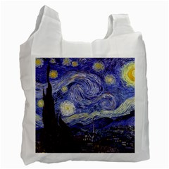 Vincent Van Gogh Starry Night Recycle Bag (Two Sides)