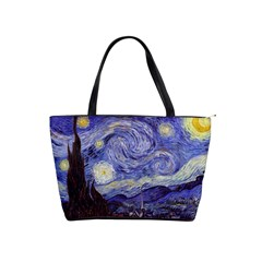 Vincent Van Gogh Starry Night Large Shoulder Bag