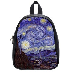 Vincent Van Gogh Starry Night School Bag (small)