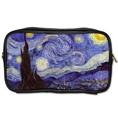 Vincent Van Gogh Starry Night Travel Toiletry Bag (Two Sides)