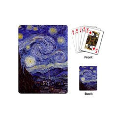 Vincent Van Gogh Starry Night Playing Cards (Mini)