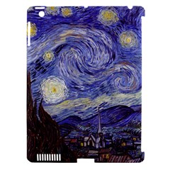Vincent Van Gogh Starry Night Apple Ipad 3/4 Hardshell Case (compatible With Smart Cover)