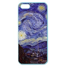 Vincent Van Gogh Starry Night Apple Seamless iPhone 5 Case (Color)