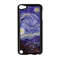 Vincent Van Gogh Starry Night Apple iPod Touch 5 Case (Black)
