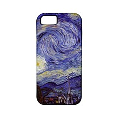 Vincent Van Gogh Starry Night Apple Iphone 5 Classic Hardshell Case (pc+silicone)