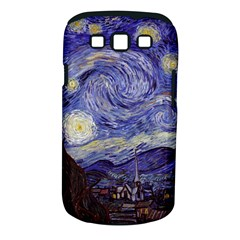 Vincent Van Gogh Starry Night Samsung Galaxy S III Classic Hardshell Case (PC+Silicone)