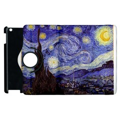 Vincent Van Gogh Starry Night Apple Ipad 3/4 Flip 360 Case