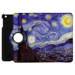 Vincent Van Gogh Starry Night Apple iPad Mini Flip 360 Case