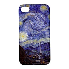 Vincent Van Gogh Starry Night Apple iPhone 4/4S Hardshell Case with Stand