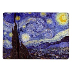 Vincent Van Gogh Starry Night Samsung Galaxy Tab 10 1  P7500 Flip Case