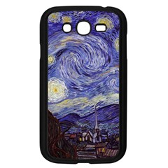 Vincent Van Gogh Starry Night Samsung Galaxy Grand DUOS I9082 Case (Black)