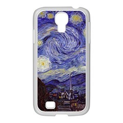 Vincent Van Gogh Starry Night Samsung GALAXY S4 I9500/ I9505 Case (White)