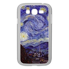 Vincent Van Gogh Starry Night Samsung Galaxy Grand DUOS I9082 Case (White)