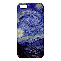 Vincent Van Gogh Starry Night iPhone 5S Premium Hardshell Case