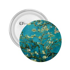 Vincent Van Gogh Blossoming Almond Tree 2.25  Button