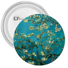 Vincent Van Gogh Blossoming Almond Tree 3  Button