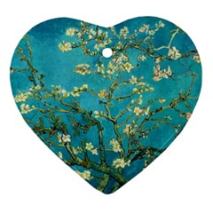 Vincent Van Gogh Blossoming Almond Tree Heart Ornament