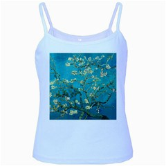 Vincent Van Gogh Blossoming Almond Tree Baby Blue Spaghetti Tank