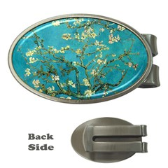 Vincent Van Gogh Blossoming Almond Tree Money Clip (oval)