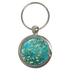 Vincent Van Gogh Blossoming Almond Tree Key Chain (Round)