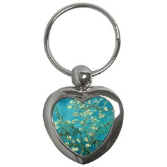 Vincent Van Gogh Blossoming Almond Tree Key Chain (Heart)