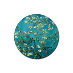 Vincent Van Gogh Blossoming Almond Tree Drink Coaster (Round)
