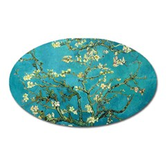 Vincent Van Gogh Blossoming Almond Tree Magnet (Oval)