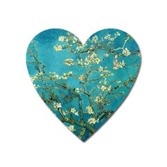 Vincent Van Gogh Blossoming Almond Tree Magnet (heart)