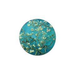 Vincent Van Gogh Blossoming Almond Tree Golf Ball Marker 4 Pack