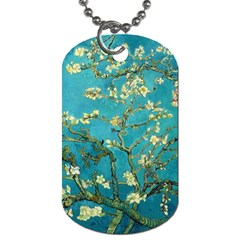 Vincent Van Gogh Blossoming Almond Tree Dog Tag (Two-sided)